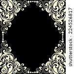 decorative frames  for design... | Shutterstock .eps vector #224526817