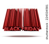 black friday sales tag in...   Shutterstock .eps vector #224534581