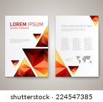 modern abstract brochure  flyer ... | Shutterstock .eps vector #224547385