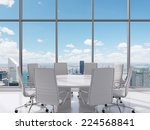 conference room. modern office... | Shutterstock . vector #224568841