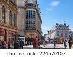 london  uk   september 30  2014 ... | Shutterstock . vector #224570107