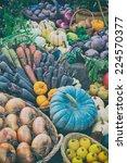 Colorful Autumn Vegetables...