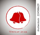vector icon ringing bell icon... | Shutterstock .eps vector #224588629
