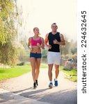 fitness  sport  friendship and... | Shutterstock . vector #224632645