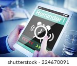 man using digital tablet with... | Shutterstock . vector #224670091
