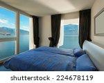 interior  beautiful modern... | Shutterstock . vector #224678119