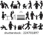 family icon | Shutterstock .eps vector #224701897