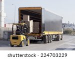 logistics and handling.... | Shutterstock . vector #224703229
