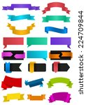 illustration of colorful... | Shutterstock .eps vector #224709844
