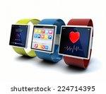 wearable device technology... | Shutterstock . vector #224714395