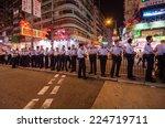 hong kong  oct 16  hongkong...   Shutterstock . vector #224719711