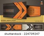 modern  simple   luxury... | Shutterstock .eps vector #224739247