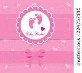 baby background with frame....   Shutterstock .eps vector #224757115