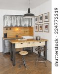 industrial kitchen | Shutterstock . vector #224772319