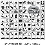 car parts  tools and...   Shutterstock .eps vector #224778517