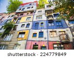 The View Of Hundertwasser Hous...