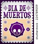 Dia De Muertos   Mexican Day O...