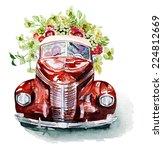 retro car | Shutterstock . vector #224812669