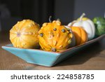 Fall Decor Gourds And Pumpkins...