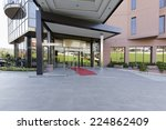 hotel cafe   part of a hotel... | Shutterstock . vector #224862409