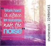 inspirational typographic quote ... | Shutterstock . vector #224864161