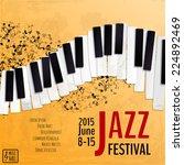 Jazz Music Festival  Poster...