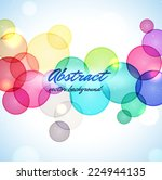 colorful abstract background | Shutterstock .eps vector #224944135