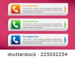 phone icon and design template...   Shutterstock .eps vector #225032254