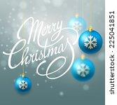 christmas card | Shutterstock .eps vector #225041851