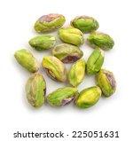 pistachios  | Shutterstock . vector #225051631