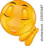 sleeping emoticon   Shutterstock . vector #225052687