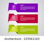 infographics vector 1 | Shutterstock .eps vector #225061165