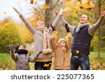 family  childhood  season and... | Shutterstock . vector #225077365