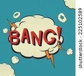 ������, ������: Bang Comic speech bubble