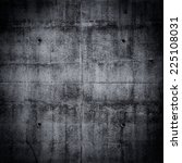 Grungy Concrete Wall And Floor...