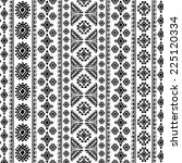tribal vintage ethnic seamless... | Shutterstock .eps vector #225120334