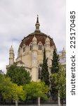 the church of san manuel y san... | Shutterstock . vector #225170485