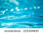 bokeh light background in the... | Shutterstock . vector #225204835