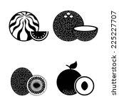 organic food graphic design  ...   Shutterstock .eps vector #225227707