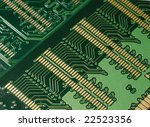 close up of back side of... | Shutterstock . vector #22523356
