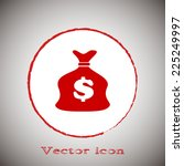 vector illustration of money...
