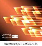 straight lines abstract vector... | Shutterstock .eps vector #225267841