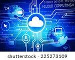 cloud computing | Shutterstock . vector #225273109