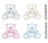 Four Teddy Bears