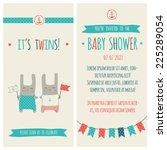baby shower invitation ... | Shutterstock .eps vector #225289054
