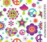 Hippie Style Psychedelic...