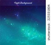 vector night sky background   Shutterstock .eps vector #225331804