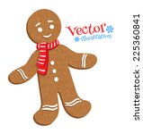 Gingerbread Man. Vector...