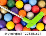 Green Mini Golf Putter With...