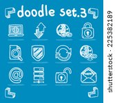 internet   web icon set vector...   Shutterstock .eps vector #225382189